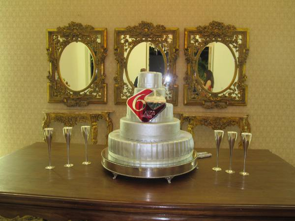 O bolo dos 60 anos