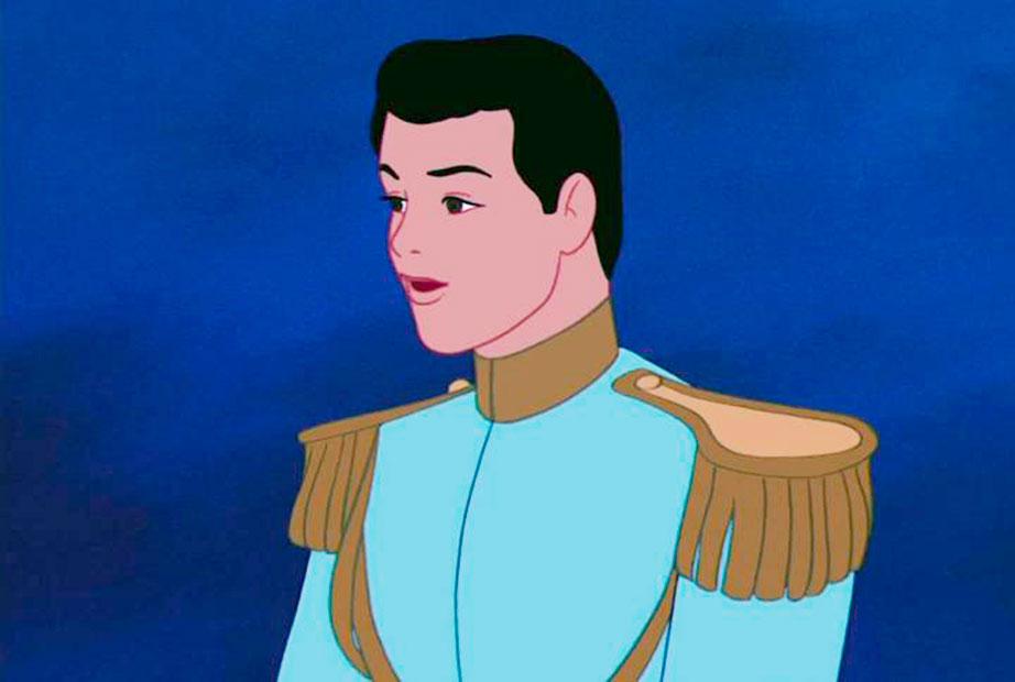 Príncipe Encantado do desenho Cinderella. Crédito: Reprodução Internet
