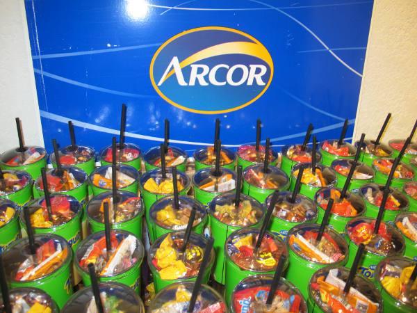 Os doces da argentina Arcor