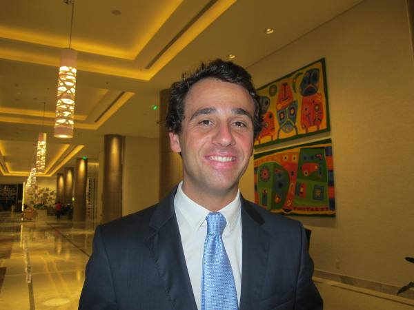 Helder Marcelino, diretor do Sheraton Reserva do Paiva, comandou perfeito serviço