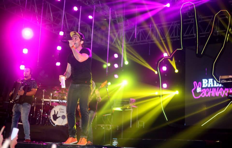 Ramon Schnayder comandou o palco do Baile Perfumado - Crédito: Vinicius Ramos/Divulgação