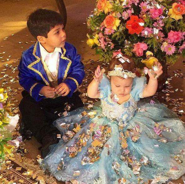Os filhos de Wesley Safadão, Yudi e Ysis - Crédito: Reprodução do Instagram