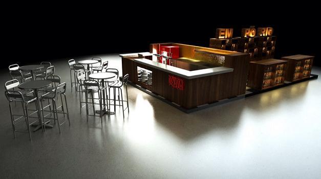 Perspectiva do espaço que será montado no Plaza Shopping - Crédito: Divulgação/Plaza Shopping