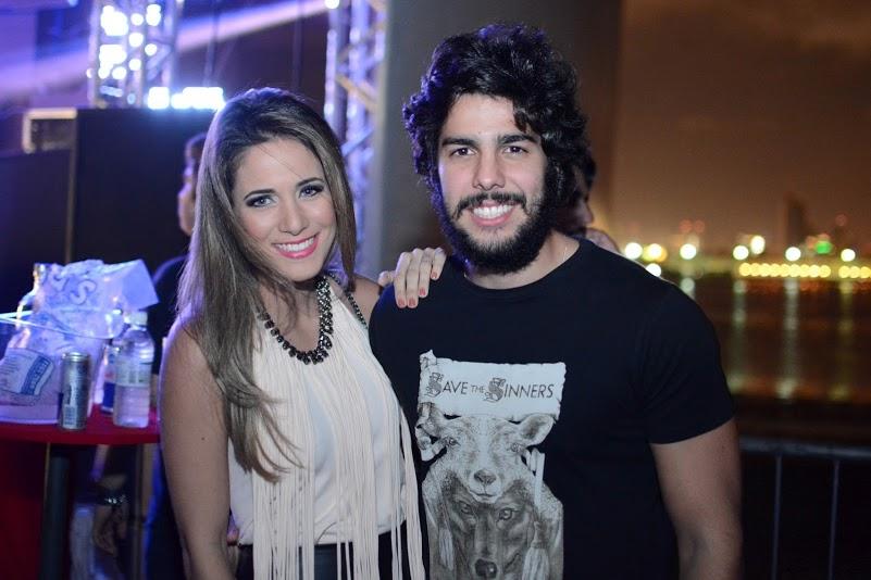 Isabelle Leite e José Pinteiro Créditos: Gabriel Pontual/Moove Comunicação