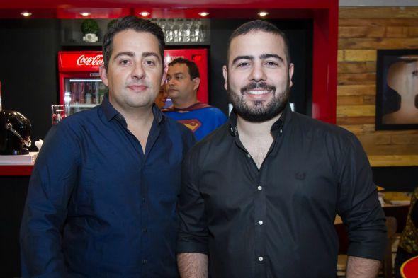 Os donos da Wayne's Frederico Lima e Jozimar Junior -  Crédito: Dado Cavalcanti/Divulgação