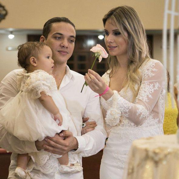 Wesley e Thyane são pais de Ysis - Crédito: Milena Marques/Divulgação