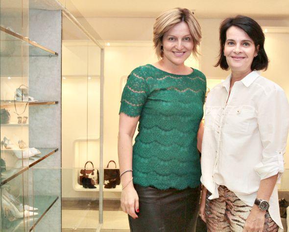 Lana Bandeira e Guilhermina Coutinho -  Crédito: Nando Chiappetta/DP/ D. A Press