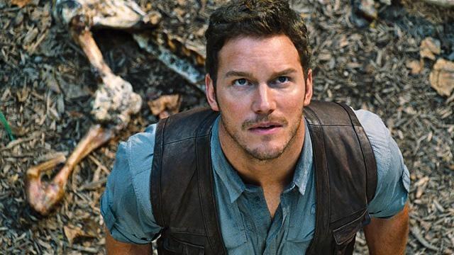 Chris Pratt em cena de Jurassic World Créditos: Reprodução internet
