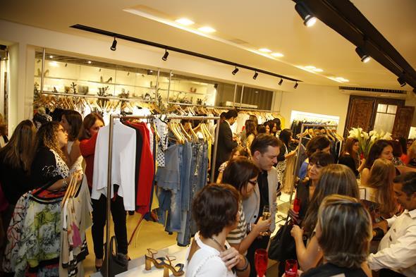 A loja, agora localizada na av. Rui Barbosa, recebeu vários rostos conhecidos Créditos: Gleyson Ramos/Divulgação