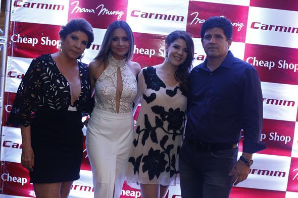 Sandra Muniz, Rebeka Guerra, Amanda Muniz, Alexandre Muniz Créditos: Gleyson Ramos/Divulgação
