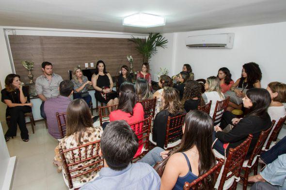 Todas concentradas no bate-papo - Crédito: Dado Cavalcanti/Divulgação
