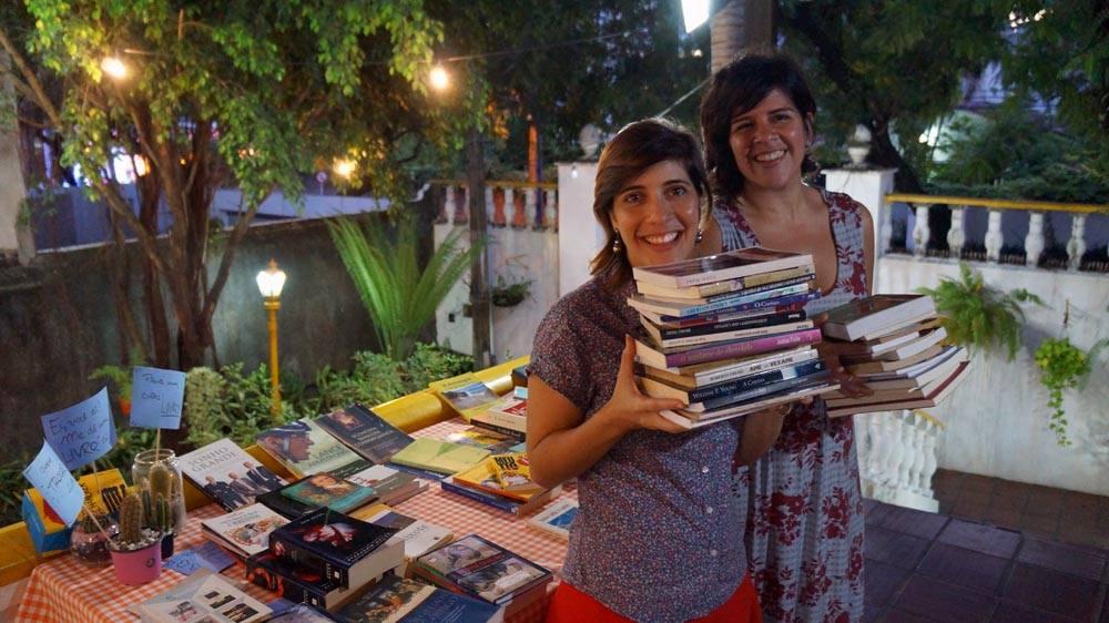 Gabriela Fiuza e Marcia Lira Créditos: Divulgação