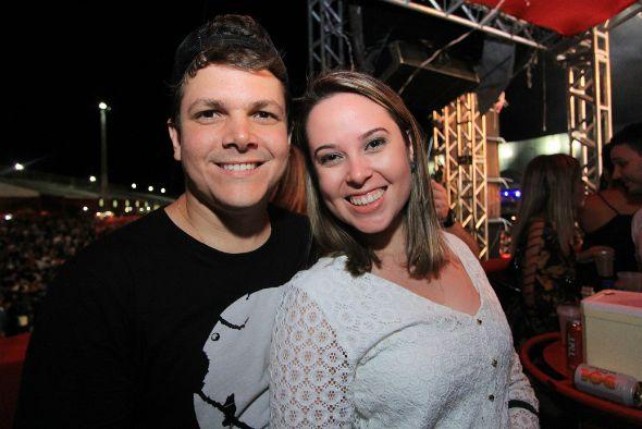 Luciano Rêgo e Amanda Belfort - Crédito: Luiz Fabiano/Divulgaçãp
