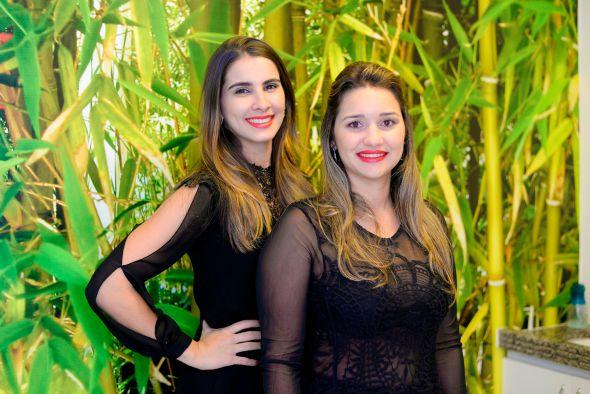 Monique Farias e Rayssa Carvalho Créditos: Diego Nóbrega/DIvulgação