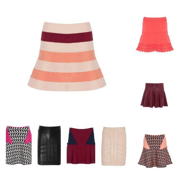 As saias variam de R$99 a R$199 - Crédito: Divulgação/C&A