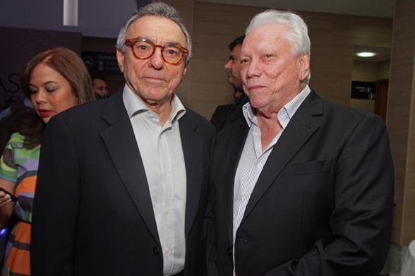 Alfrizio Melo (presidente da Italo Biachi Comunicação) e Antonio Carlos Vieira (presidente da Arcos). Crédito: Roberto Ramos/DP/D.A. Press