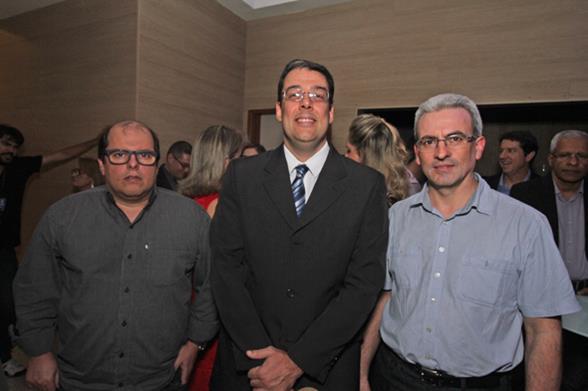 Bruno Braga, Marcos Godoy e Jocemar Schmidtt. Crédito: Roberto Ramos/DP/D.A. Press