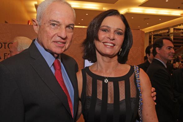 Boris e Mary Berenstein. Crédito: Roberto Ramos/DP/D.A. Press