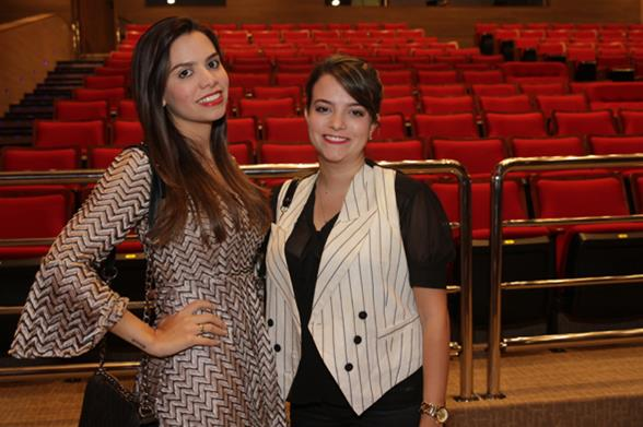 Marina Rondon e Bruna Chidid. Crédito: Roberto Ramos/DP/D.A. Press