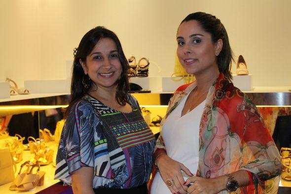 Meyrianne Diniz e Vanessa Tinoco - Crédito: Taís Machado /DP/D.A. Press