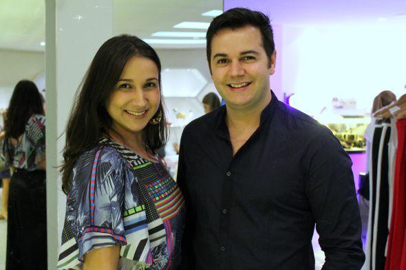 Meyre e Heracliton Diniz Crédito: Taís Machado /DP/D.A. Press