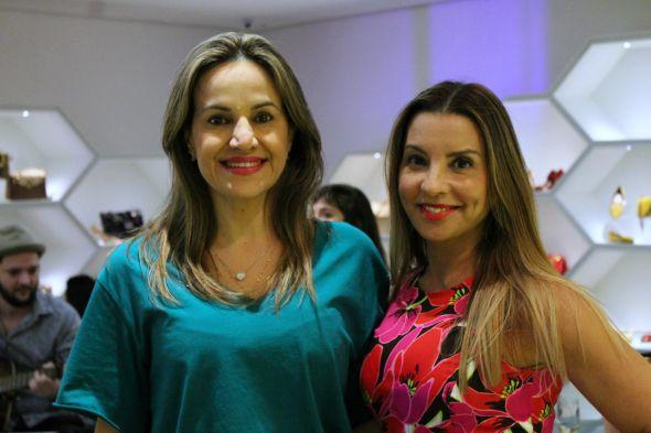 Socorro Almeida e Socorro Leite -  Crédito: Taís Machado /DP/D.A. Press