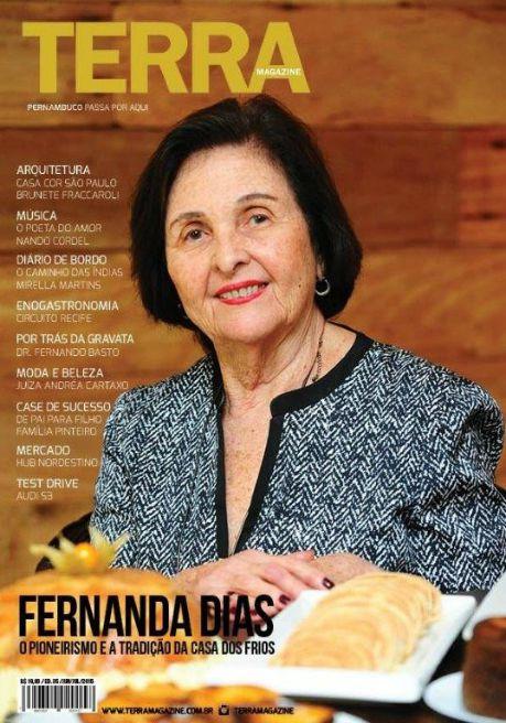 Capa da revista Terra Magazine. Crédito: Reprodução