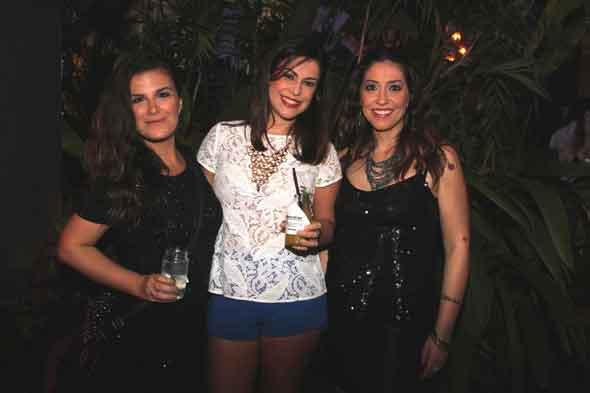 Priscila Serff, Ester Cresciulo e Adriana Teixeira. Crédito: Nando Chiappetta/DP/D.A Press