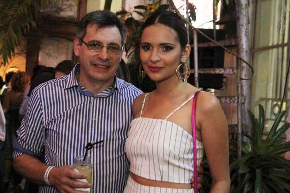 Damião e Rebeka Guerra. Crédito: Nando Chiappetta/DP/D.A Press