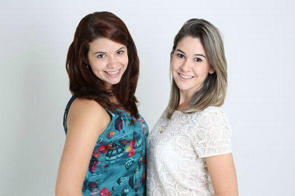 Nanda Urias e Mila Moura, do Blog Meu Dia D Mãe. Crédito: Divulgação