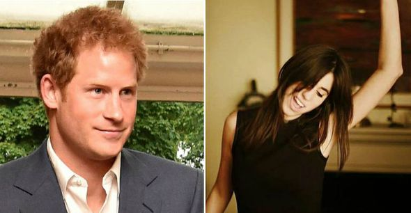 Príncipe Harry e Antonia Packard. Crédito: Reprodução Facebook