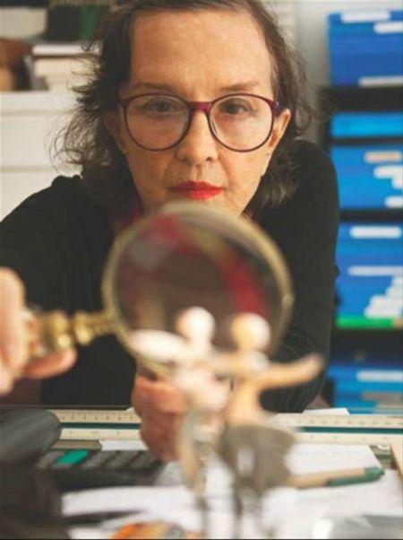 Marianne Peretti. Crédito: Reprodução/caixacultural.com.b