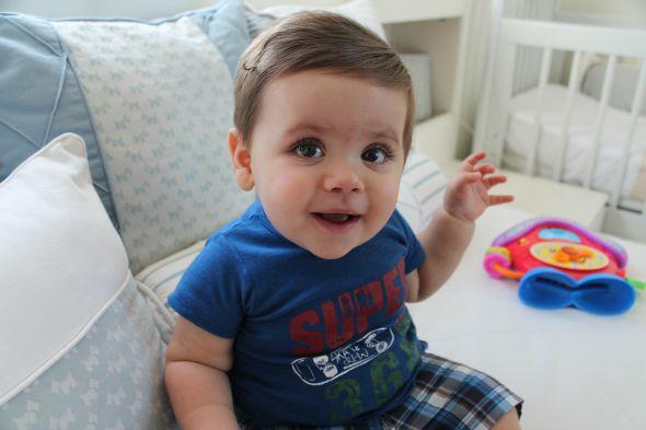 O pequeno Enzo  Crédito: Taís Machado/DP/D.A Press