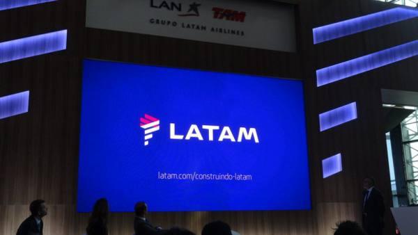 A marca da Latam