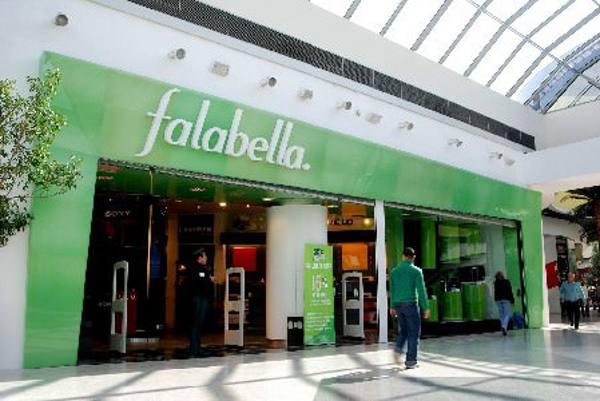 Falabella tem várias lojas em Santiago