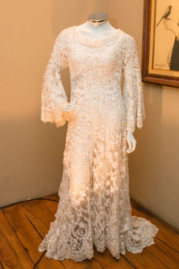 Vestido de noiva usado por Preta Gil - Crédito: Tatiana Sotero/DP/D.A Press