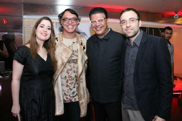 Flávia Azevedo, Nestor Mádenes, Marcos Salles e Eduardo Azevedo. Crédito: Bruno Maia/Divulgação
