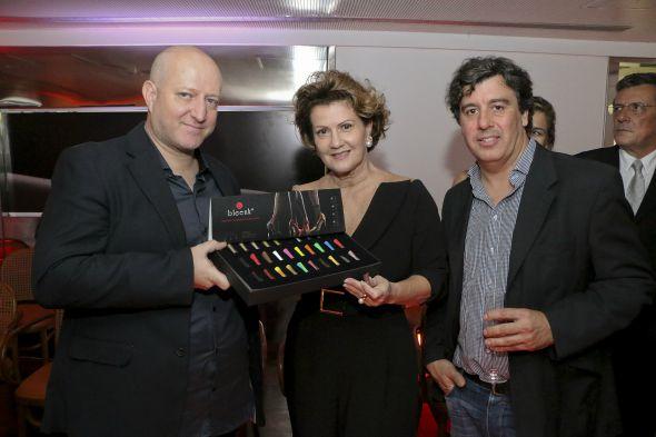 Sergio Castro, Rose Blanc e Vitor Costa. Crédito: Bruno Maia/Divulgação