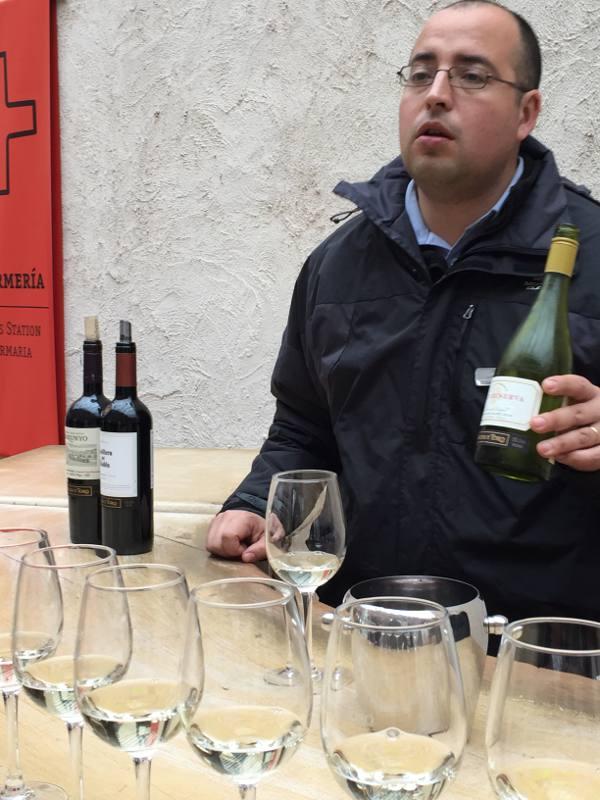Aula sobre vinhos