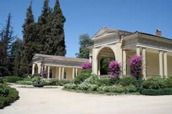 A casa dos donos da vinícola