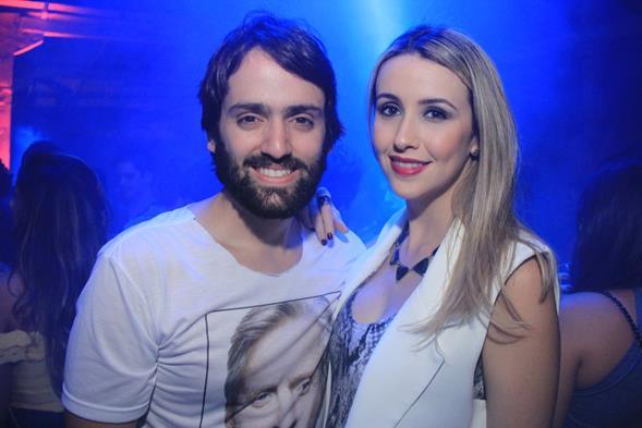 Jorge Peixoto e Bruna Monteiro. Crédito: Luiz Fabiano/Divulgação