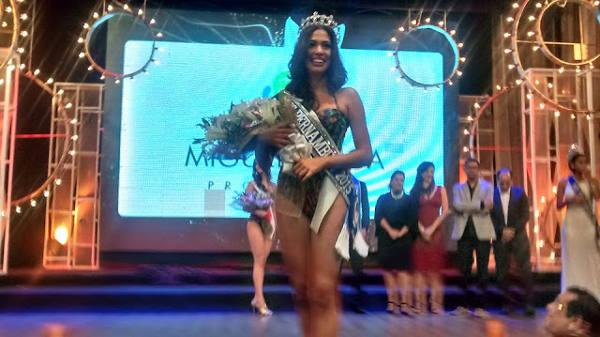 Sayonara Veras, Miss Pernambuco/Coordenação do Miss Pernambuco/Divulgação