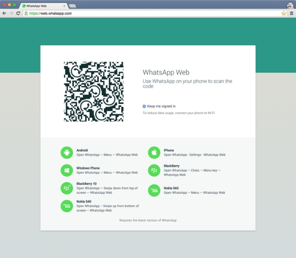 Foto da tela antes da conexão entre o aparelho e o computador  Créditos: Reprodução/Site oficial