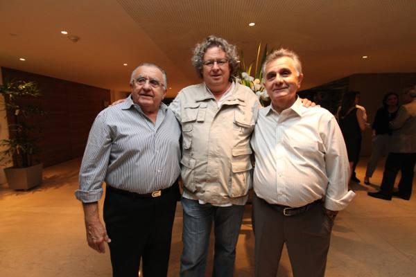 Carlos Paes Mendonça, Dirk Niepoort e Reginaldo Paes Mendonça/ Foto Hélia Scheppa