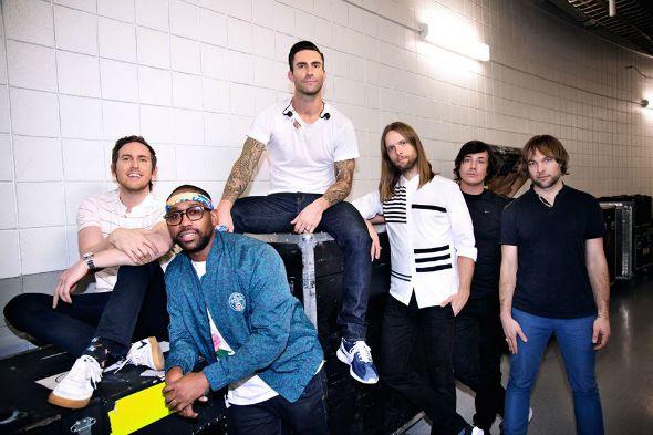 Maroon 5. Crédito: Reprodução Facebook