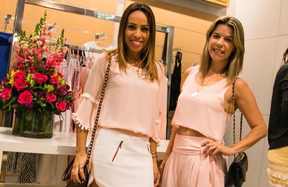 Paula Ardanza e Luciana Mapurunga -  Crédito: Tatiana Sotero/DP/D.A Press