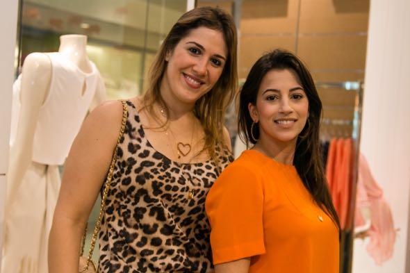 Rochelle Vieira Tude e Renata Muniz -  Crédito: Tatiana Sotero/DP/D.A Press