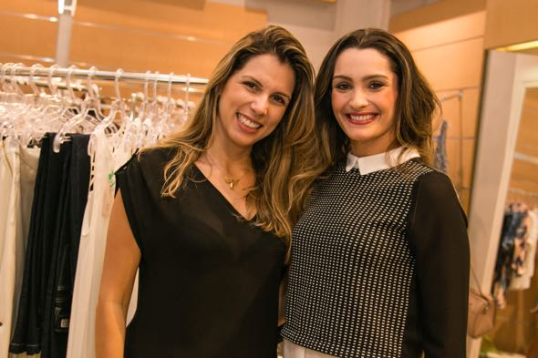 Catarina Medeiros e Ana Maria Pimenta -  Crédito: Tatiana Sotero/DP/D.A Press