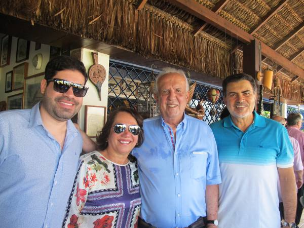 Jarbas Vasconcelos, Tony Gel, Toninho e Miriam Lacerda