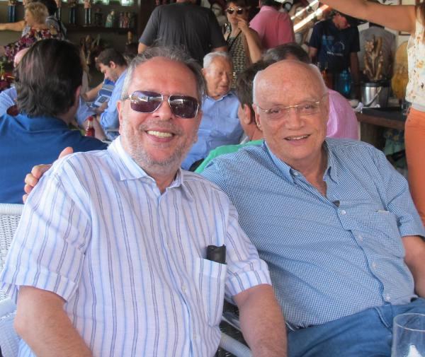 Joao Humberto Martorelli e Guilherme Robalinho